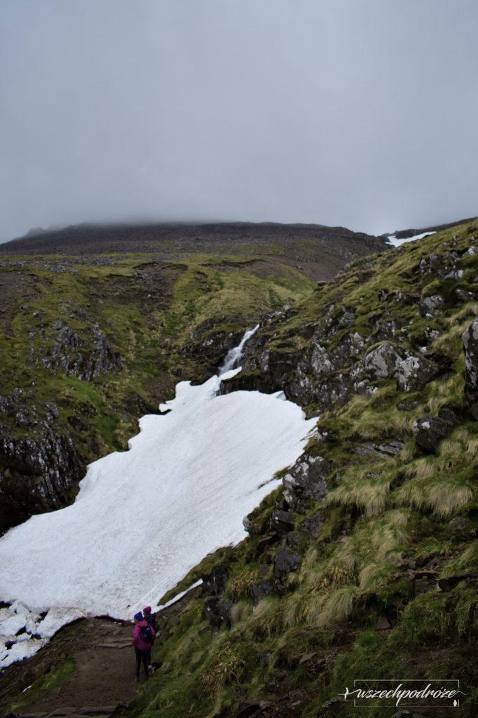 Ben Nevis lodowiec ciężka trasa