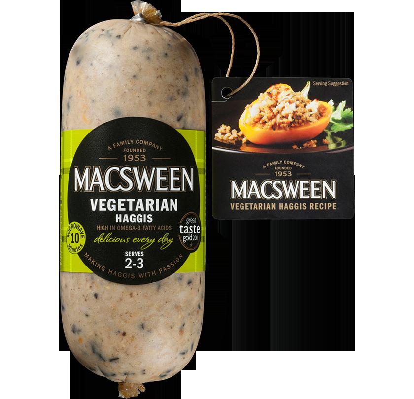 Wegetariańskie szkockiehaggis - MACSWEEN - przepis