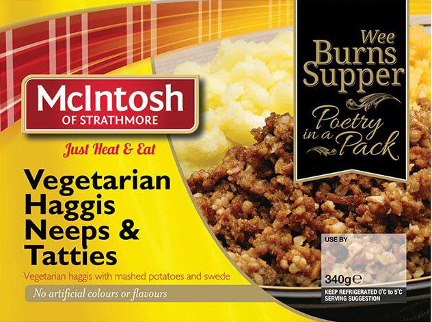 Wegetariańskie szkockie haggis -mcintosh - przepis